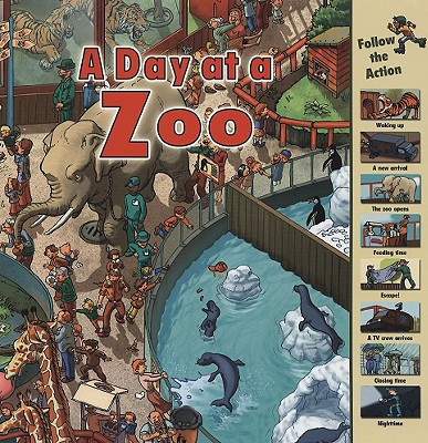 A Day at a Zoo By Harrison, Sarah